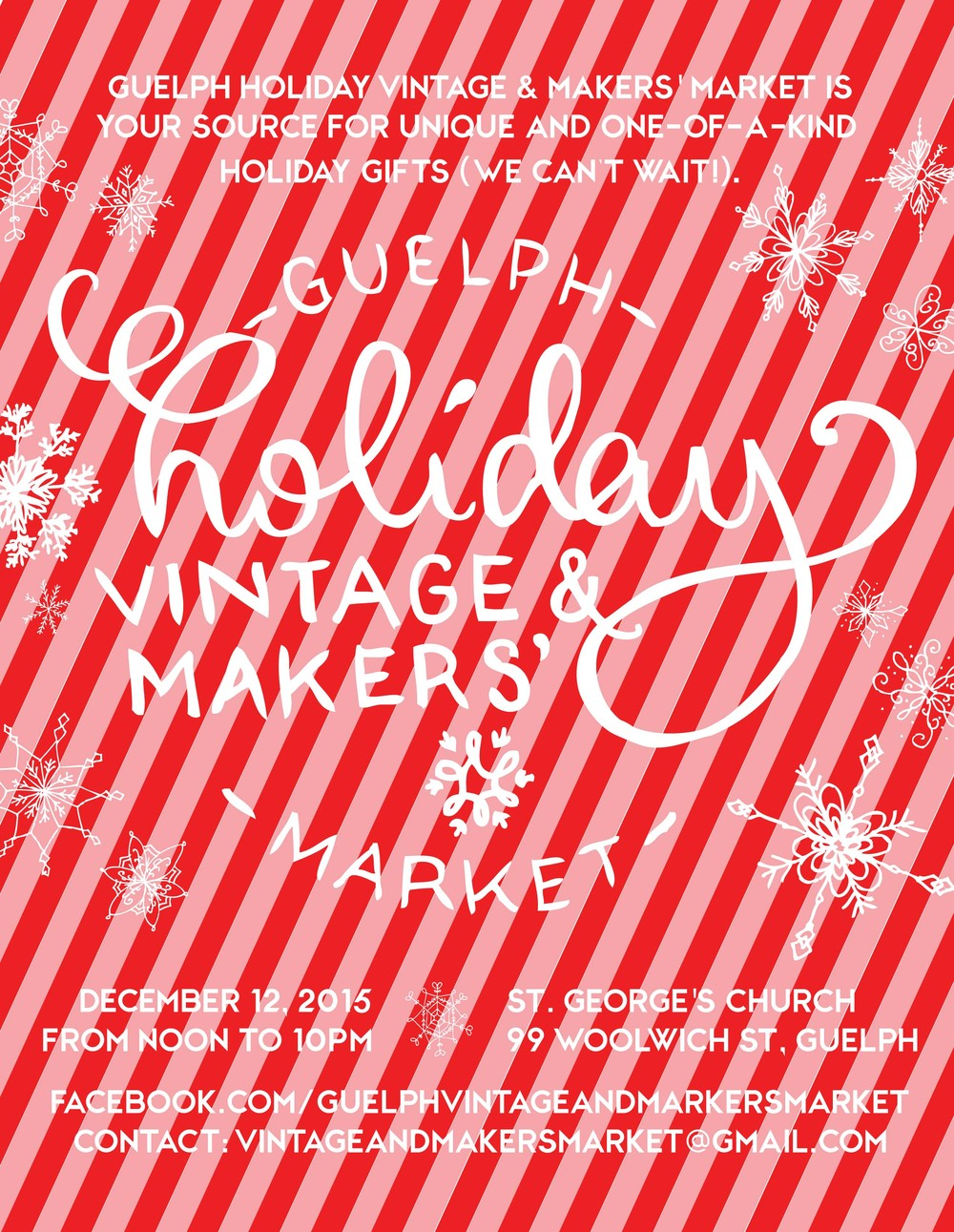 Guelph Holiday Vintage & Makers' Market