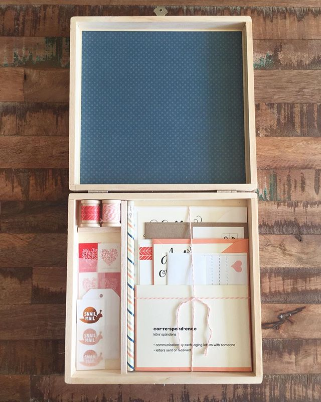 My FIRST EVER sale on Etsy, was a Letter Writing Kit. It has been a signature product and best seller in the Terlie Design Co. lineup and the design has evolved tremendously since it's inception in 2014. I strive to design my products to be as special as the people receiving them. I'm always looking for ways to improve and would love to hear your suggestions on what a perfect writing kit looks like to YOU. Who do you think would appreciate receiving it as a gift? What would it include? What colors would it be? Please share your thoughts in the comments or DM me!  #snailmail #stationery #letterwriting #penpals #penpalswanted #write_on #writemoreletters #mailart
