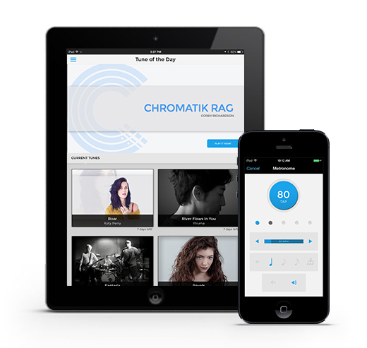 Chromatik on iOS