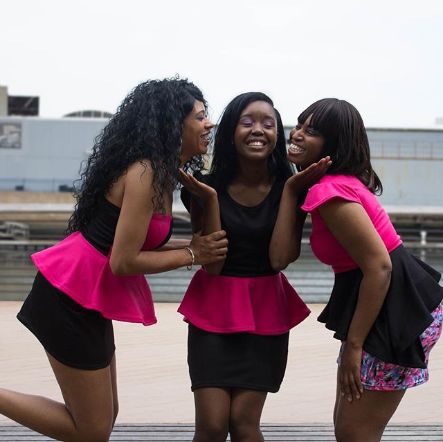 Just a few Esentric girls having some fun *Happy Humpday* . . #fashion #style #styles #love #TagsForLikes #skirt #cute #fashionblog #fashionaddict #fashionable #fashiongram #beautiful #instagood #pretty #areyouesentric #pink #girl #trendy #design #model #dress #areyouesentric #heels #fashiondiaries #phillyfashion #esentricapparel #instafashion #shopping #glam