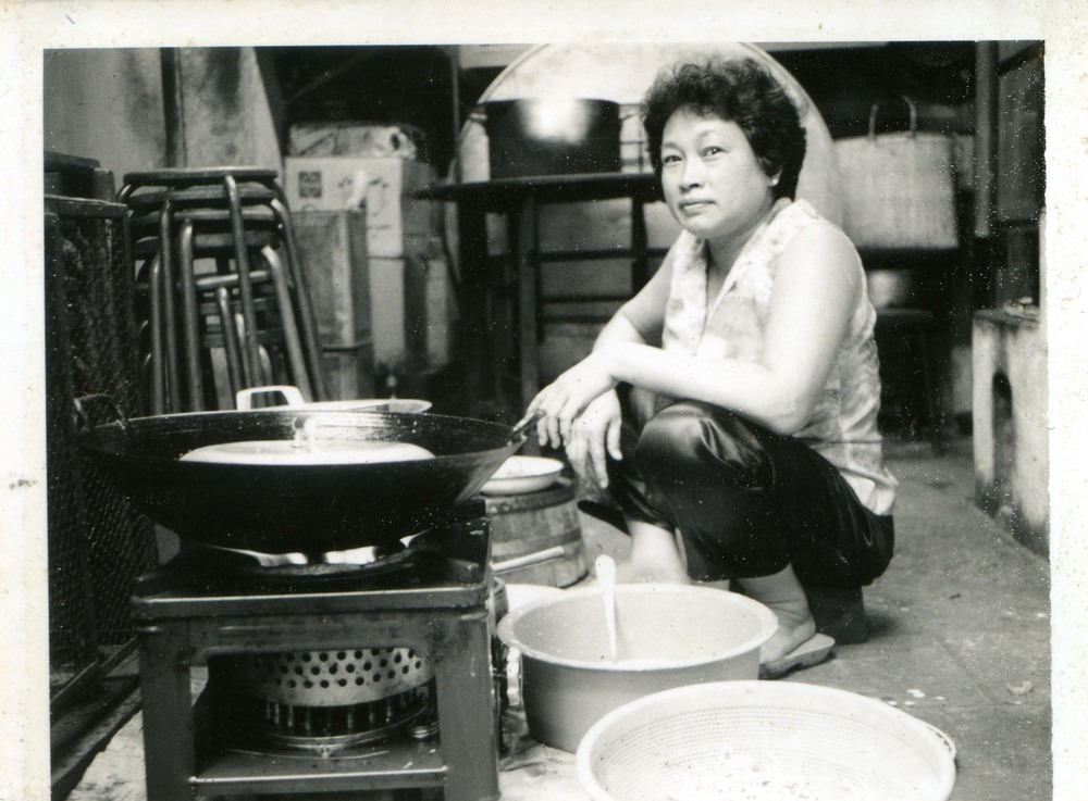Bu Wei Truong, grandmother of Wei Pantry Founder & CEO makes dinner for her 20+ household in Saigon, Vietnam.