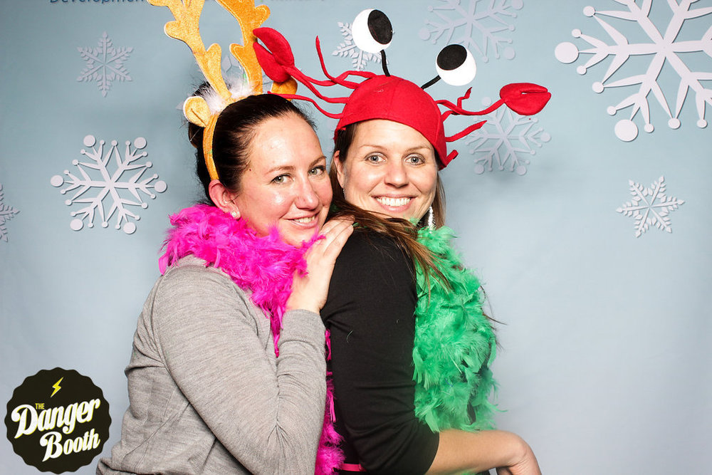 Custom Photo Booth Backdrop | The Danger Booth