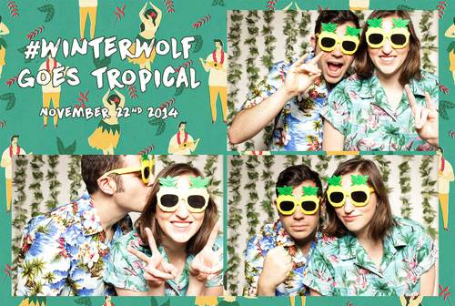 Open Air Photo Booth Rental | Print Template