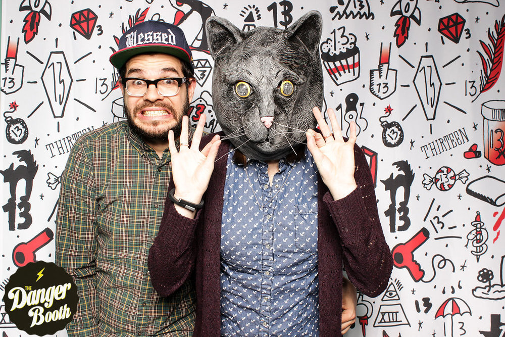 Animal Head Mask Photo Booth Prop | The Danger Booth
