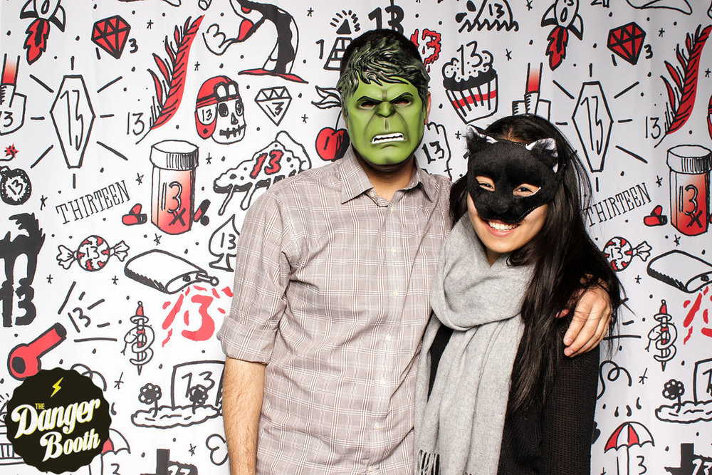 Wistia Friday the 13th Party | The Danger Booth | Boston Photo Booth