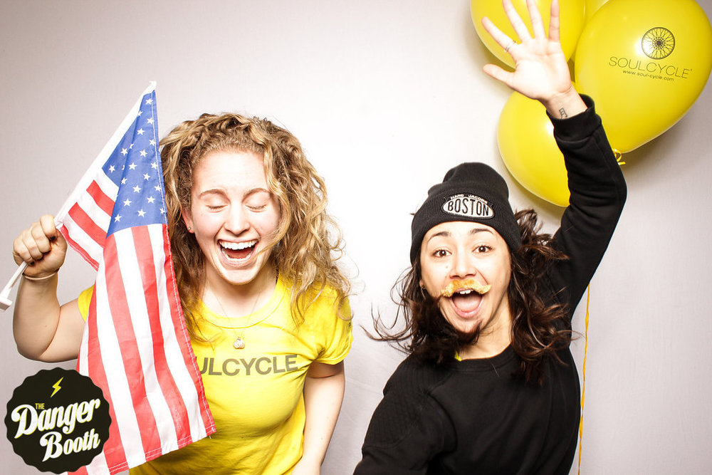 Soul Cycle Chestnut Hill | The Danger Booth | Boston Photo Booth