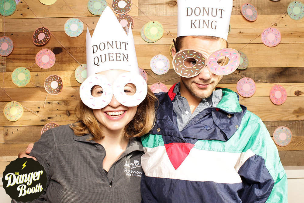 Photo Booth Rental Boston | National Donut Day | The Danger Booth