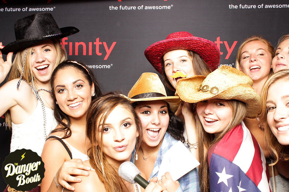 Photo Booth Rental Boston | Tim McGraw | Xfinity | The Danger Booth