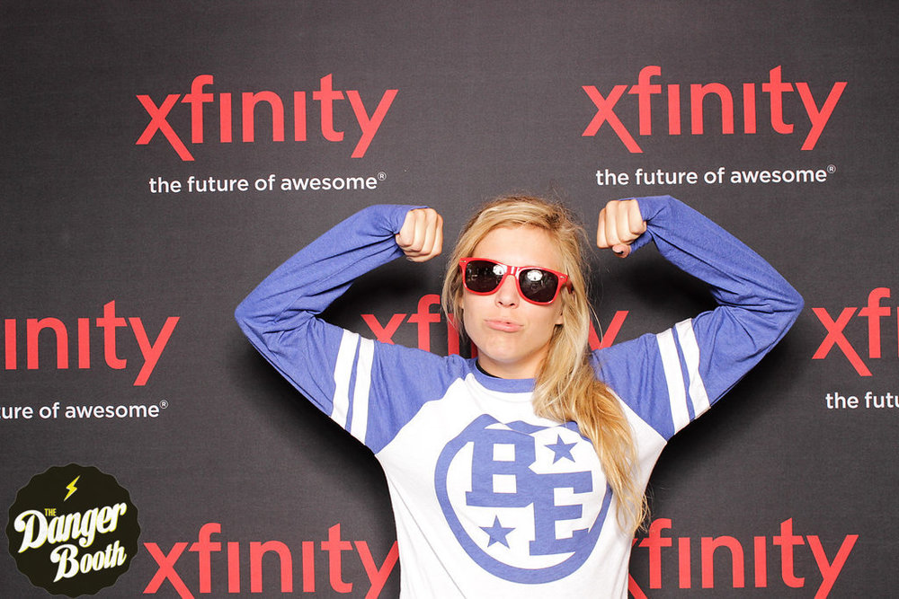 Photo Booth Rental Boston | Darius Rucker | XFINITY ZONE | The Danger Booth