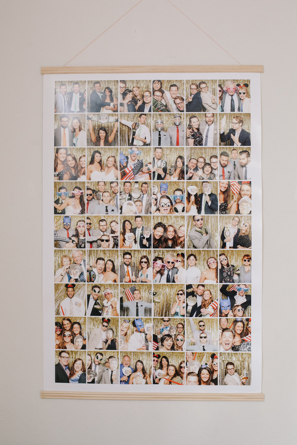 10 Awesomely Different Ways to Display Your Photo Booth Pictures | The Danger Booth