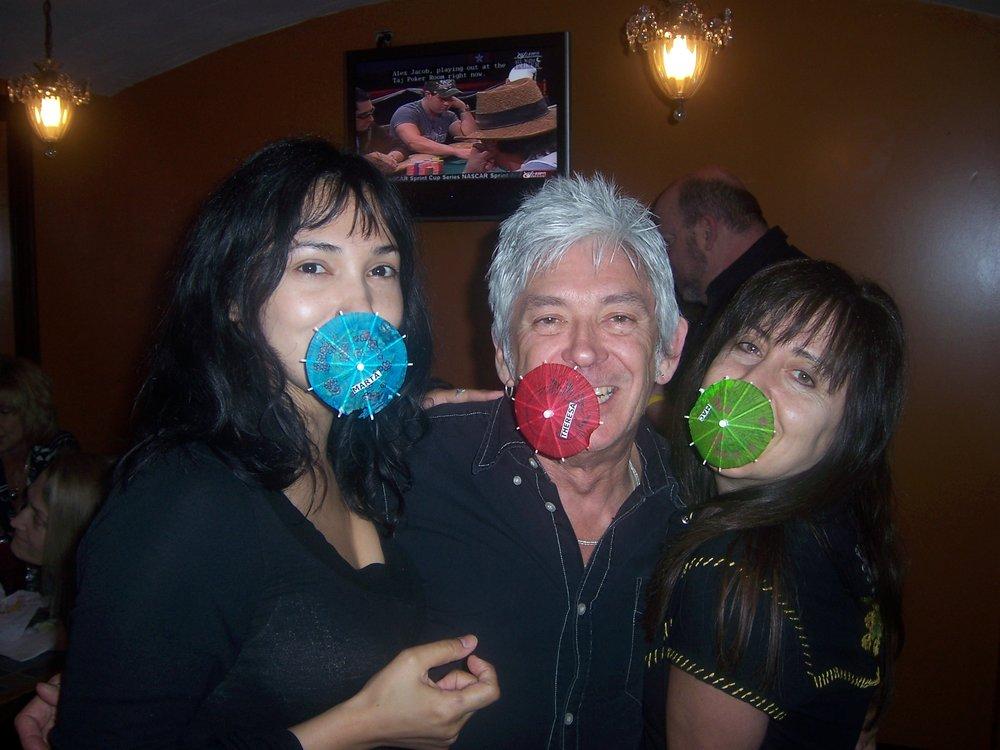 May Birthdays with Marta, Mac, and Theresa