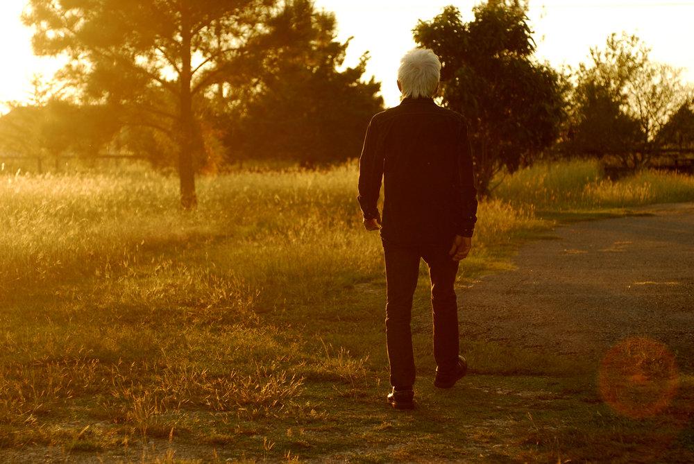 Mac on his trails
