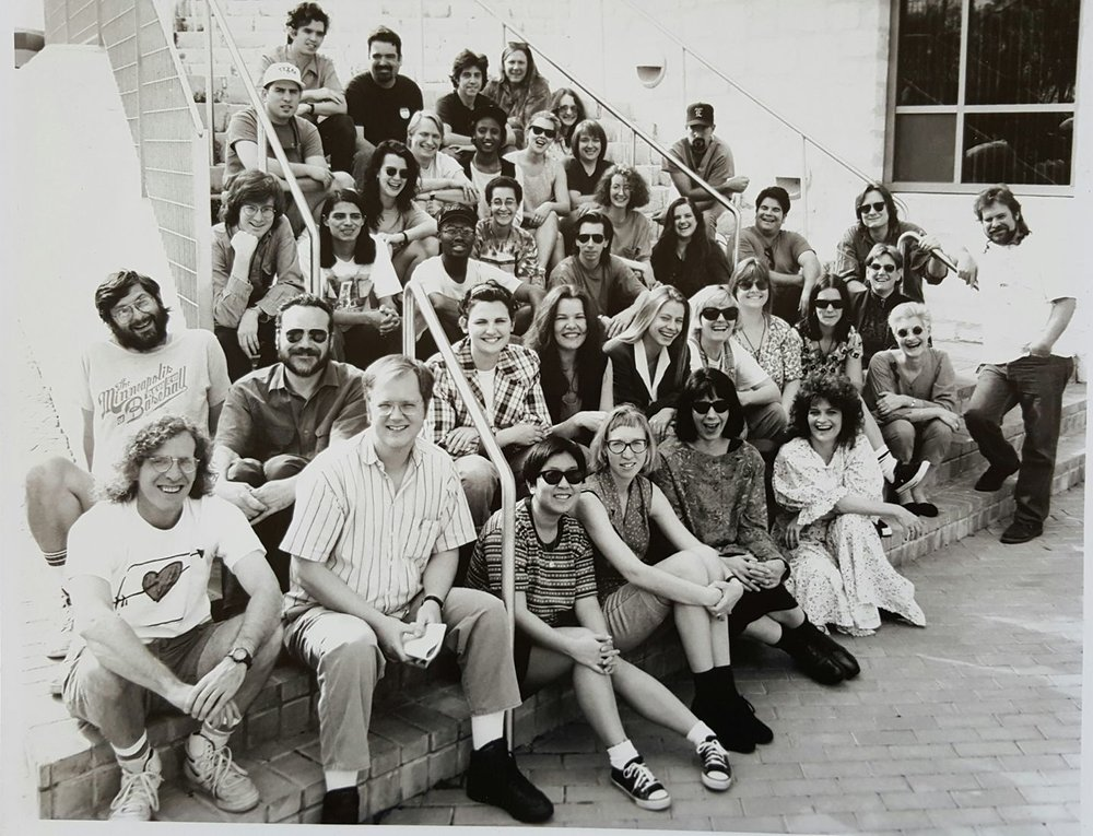 SXSW Staff in the early 90's.