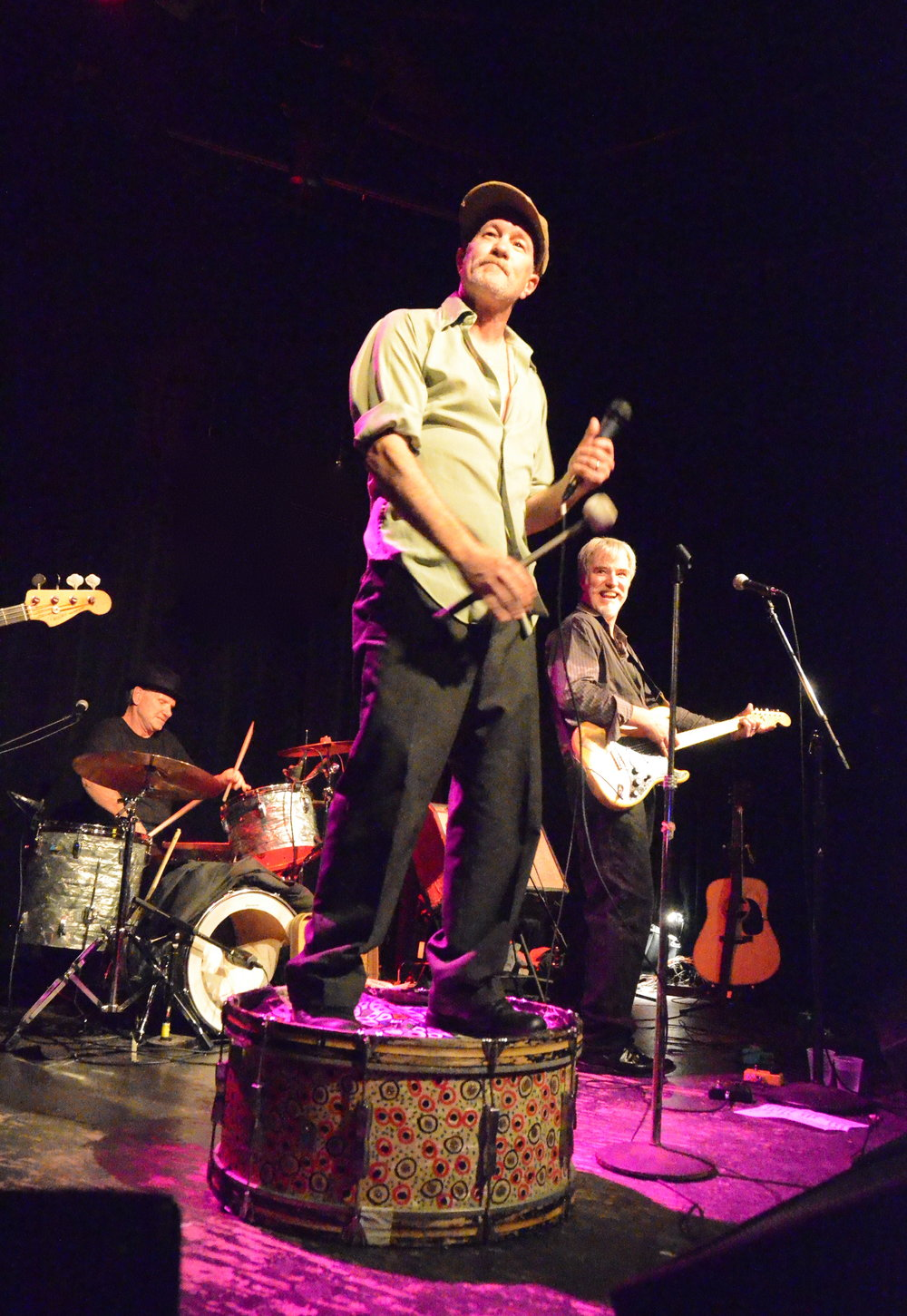 Michael Slattery (Shoulders) performing in 2013.