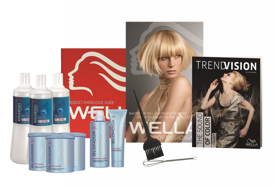 Wella color products for superior color and shine!