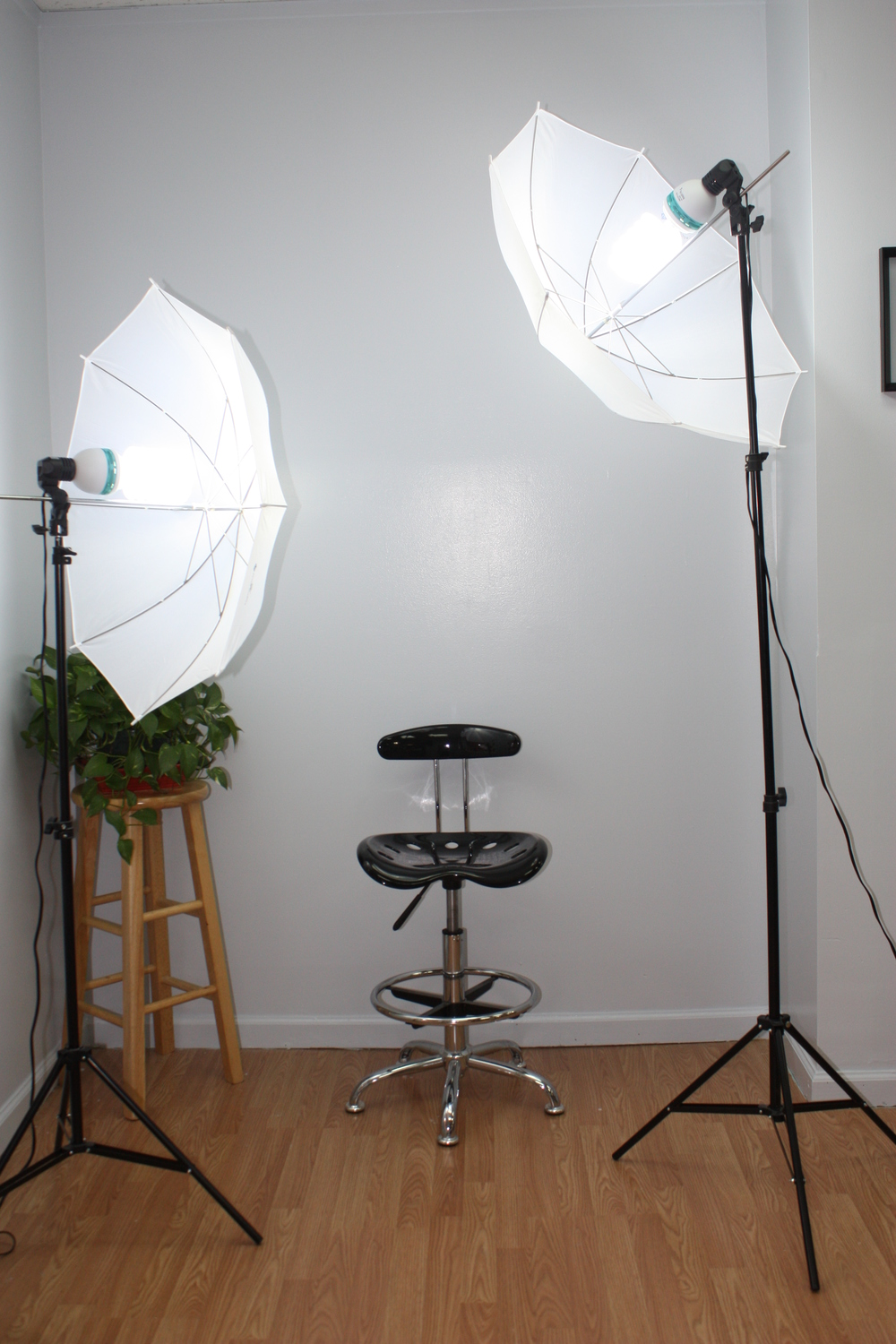 We have our very own photo shoot set up to capture your new look!  Now how many salons can say that!?