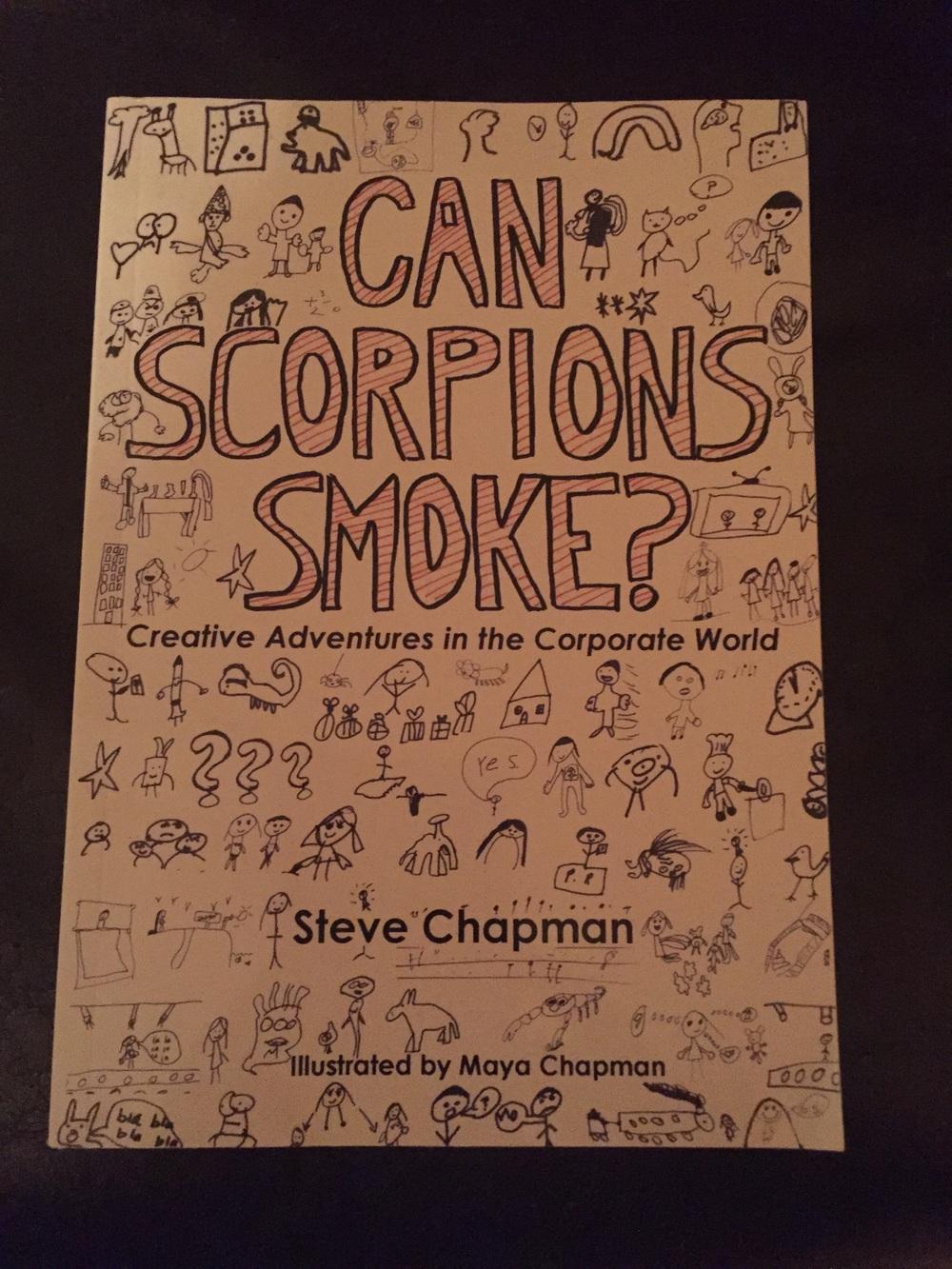 Find Steve Chapman's work  https://canscorpionssmoke.wordpress.com