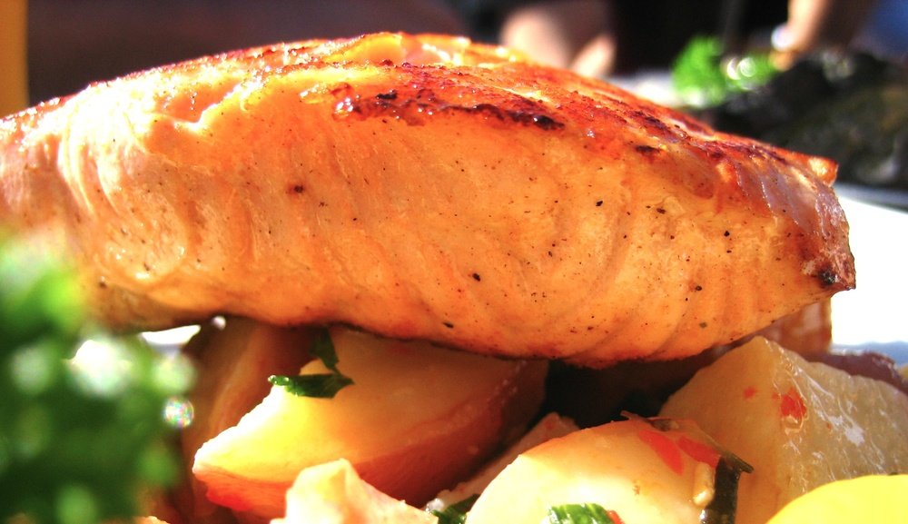 Moroccan Salmon: $14.95