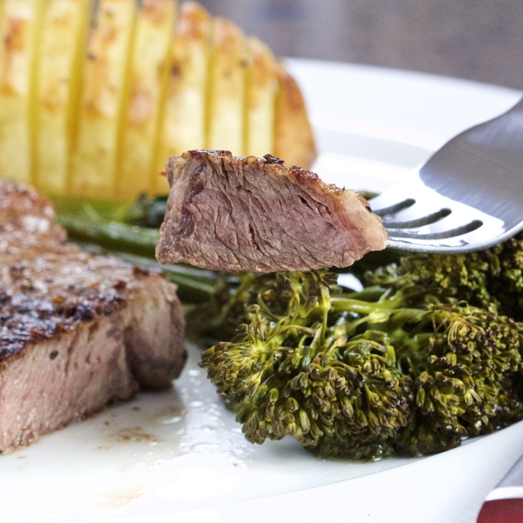 Back To Basics Steak And Potatoes — Land Of Noms