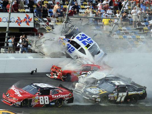 Larson Crash