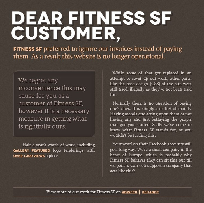 fitness-sf-design-hijack