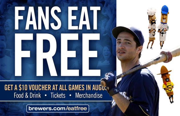 Braun free beer and bratwurst voucher