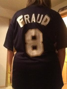 Brewers fan changes Braun jersey to read fraud