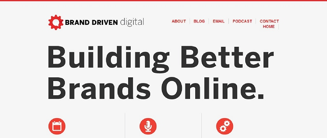 brand driven digital branding blog screen shot best blogs for building your online brand