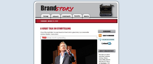 brand story branding blog screen shot best blogs for building your online brand