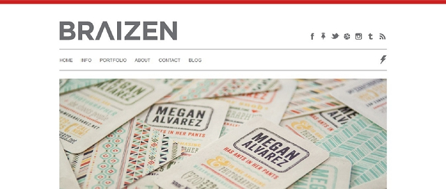 braizen branding and design blog screen shot best blogs for building your online brand