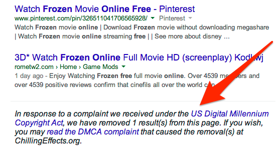 right to be forgotten search engine land frozen search example