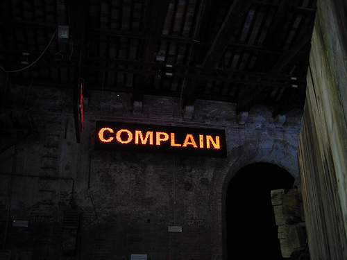 top customer complaints and how to deal with them photo by https://www.flickr.com/photos/20918261@N00/