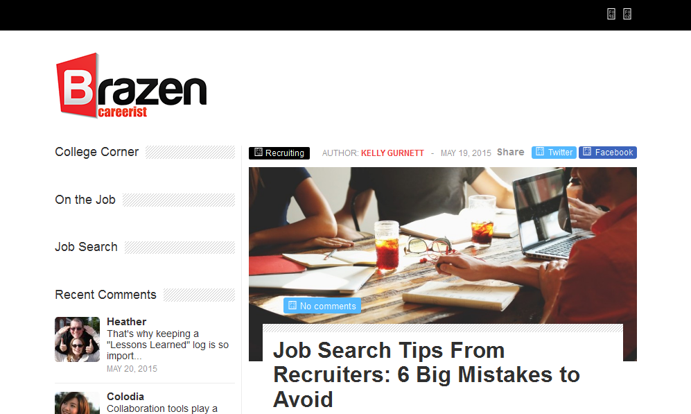 ReputationManagement.com CEO Bill Fish Quoted on Brazen Careerist
