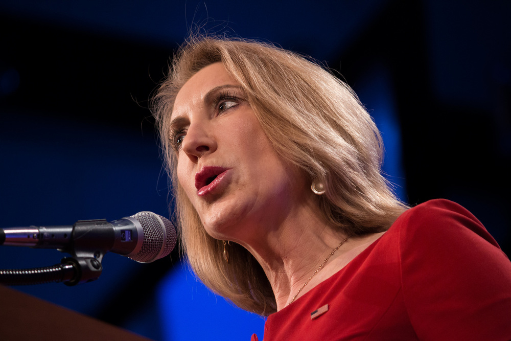 former hewlett packard ceo and current presidential hopeful carly fiorina has been plagued by a negative reputation (reputation management for ceos), photo by https://www.flickr.com/photos/ambientjohn/