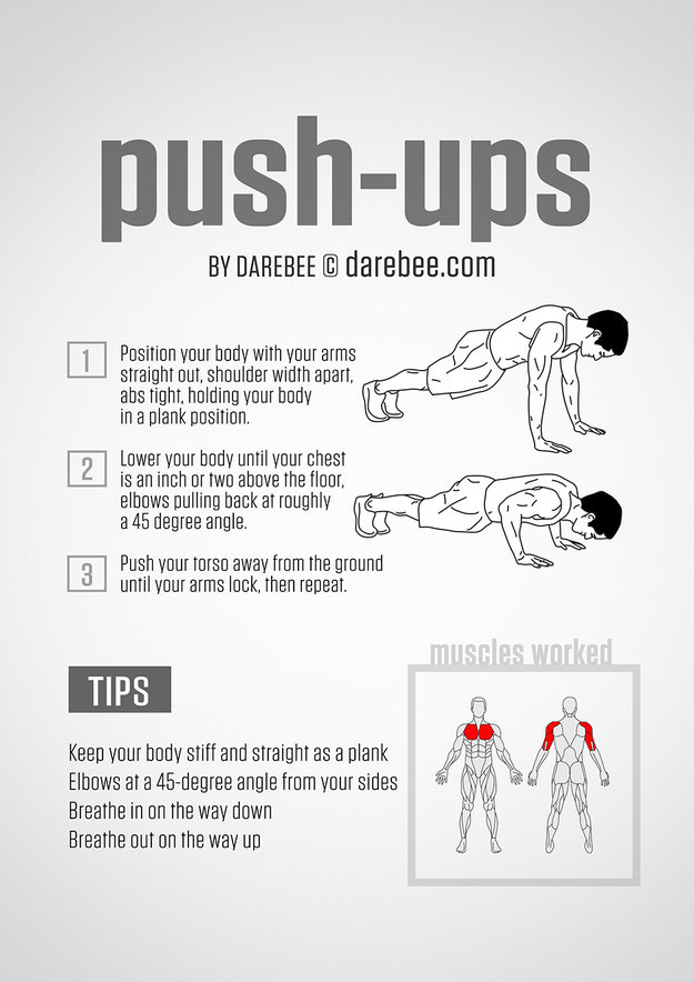 3 Steps For Proper Push Ups at klub athletik 20 west island gym montreal