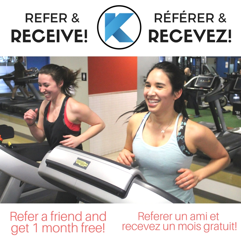 refer and get up to 1 year free at klub athletik beaconsfield