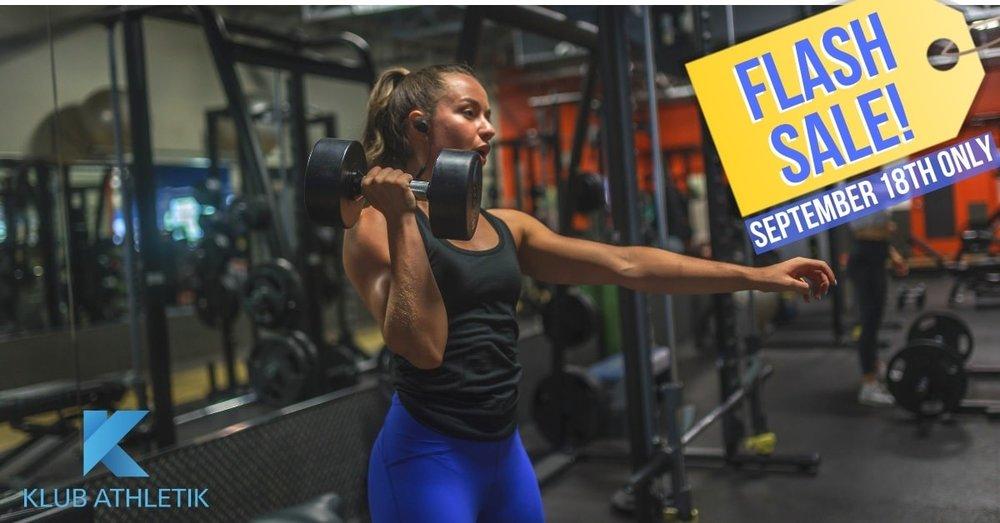klub athletik beaconsfield gym flash sale