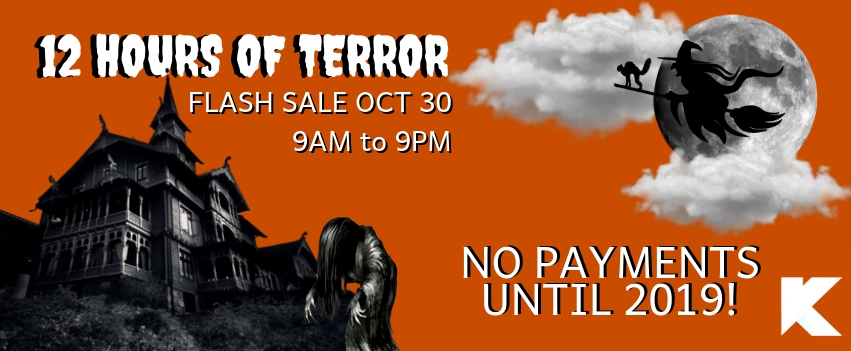 Looking to join the gym!? Join the 12 hours of Terror October 30th and we push your payments to 2019!!  Already a member? Refer a friend and we'll push both of your payments to 2019!   Reserve your spot below!!