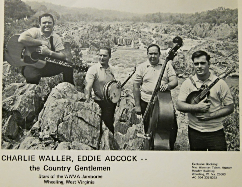 From the Archives:  Black and white photograph of Charlie Waller and The Country Gentlemen, undated. Donated by Bill Vernon.
