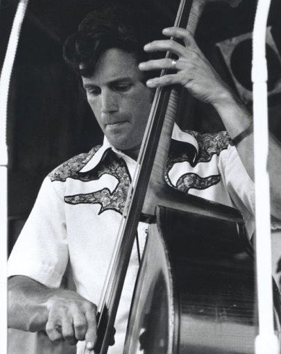 From the Archives:  Tom Gray at the Berkshire Mountains Festival in Ancramdale, New York late 1970's.   Photo by Ron Petronko.