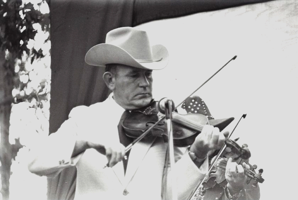 From the Archives:  Kenny Baker at the 1975 Dick Tyner's Golden West Bluegrass Festival.    Donated by John and Sue Averill.