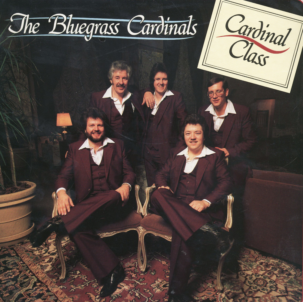 From the Archives:  Original recording of 11 tracks by the Bluegrass Cardinals. This album was produced by Lance LeRoy and recorded at Studio By the Pond in Hendersonville Tennessee.  David Parmley: Guitar; Norman Wright: Mandolin; John Davis: Bass; Nike Hartgrove: Fiddle.  Source unknown.
