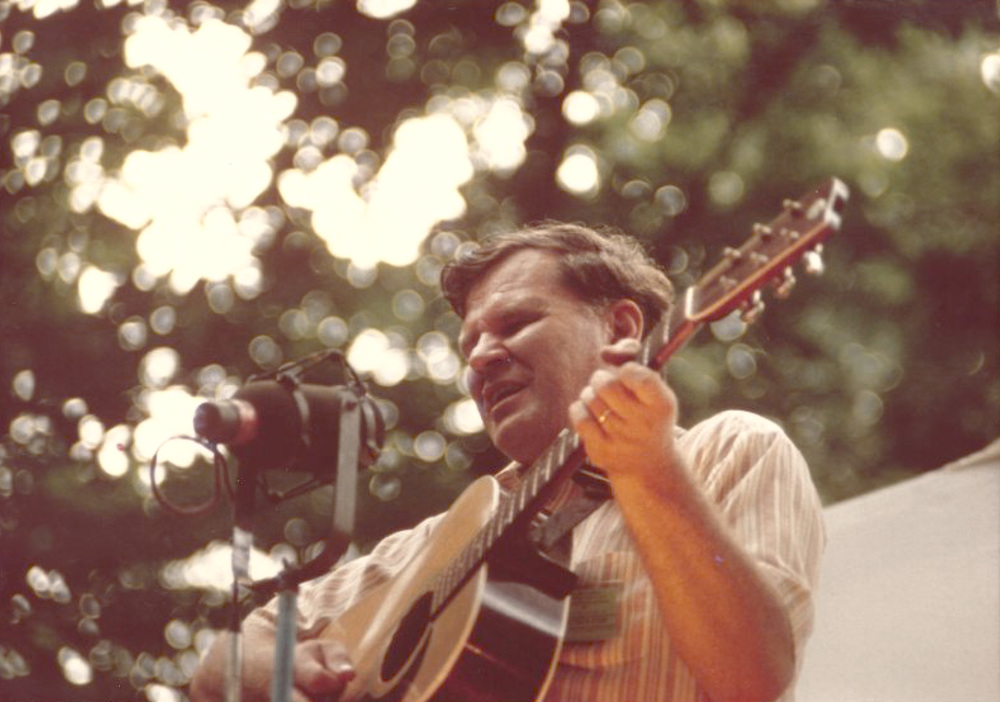 From the Archives:  Doc Watson, undated.  Donated by Bill Vernon.