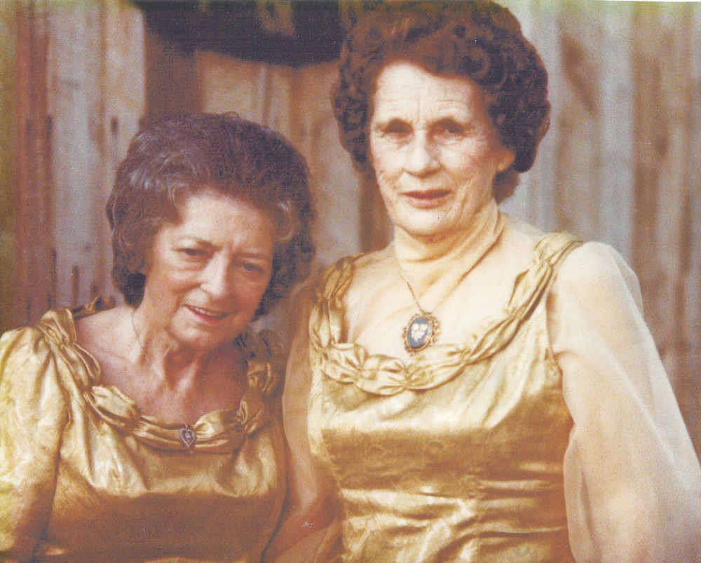 From the Archives:  Sara and Maybelle Carter at the A.P. Carter Memorial Festival in Maces Springs, Virginia.  Sara and Maybelle's performance together at the 1977 festival was their last.  Maybelle died in 1978 and Sara died in 1979.  Donated from Miss Dixie Hall's personal collection.