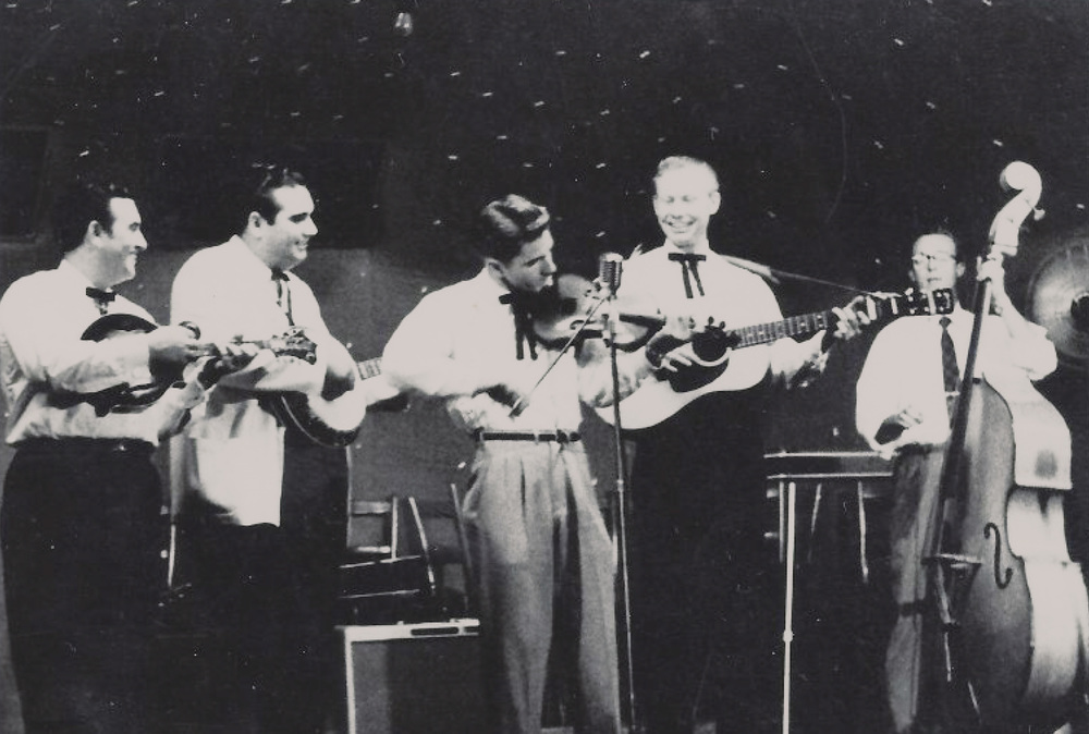 From the Archives:  The Osborne Brothers with Red Allen.  Donated by Roger Sprung.