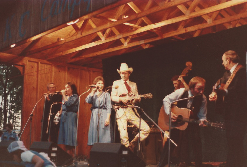 From the Archives:    The Lewis family performance on August 23, 1983 in Milan Michigan.     Donated by Jacklyn Lester.
