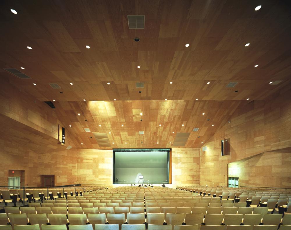 Studio Works Architect, LAUSD West Adams High School Auditorium