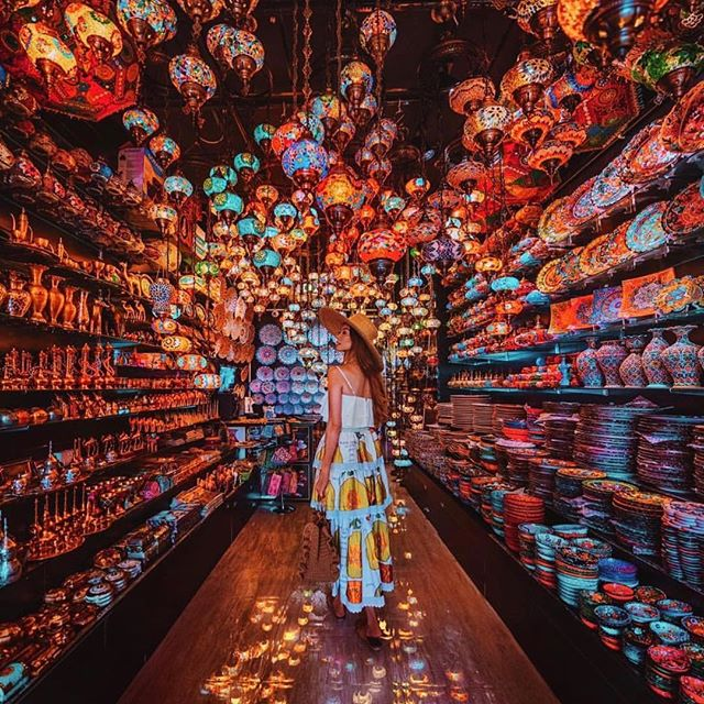 The magic that is @taramilktea in the souks of Dubai in our David Austin skirt. She makes her Instagram an art form just incredible XXX