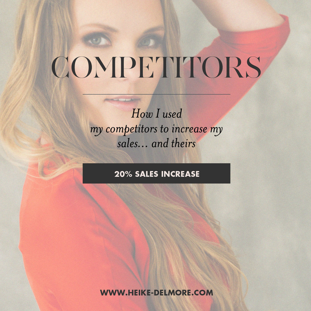 how to use your competition to increase your sales