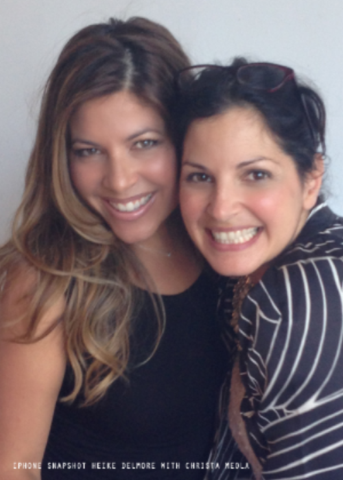 Christa Meola and I in NYC last summer. I had the best time with this amazing talented lady.